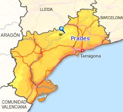 Imagen de Prades mapa 43364 4