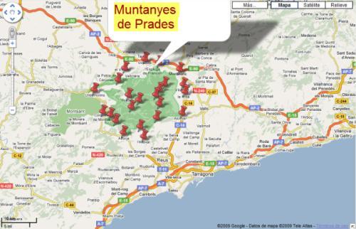 Imagen de Prades mapa 43364 5
