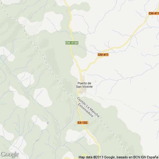 Imagen de Puerto de San Vicente mapa 45577 1