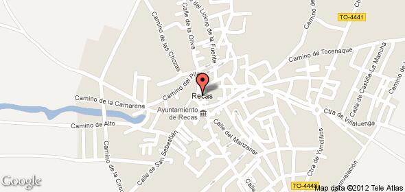 Imagen de Recas mapa 45211 2