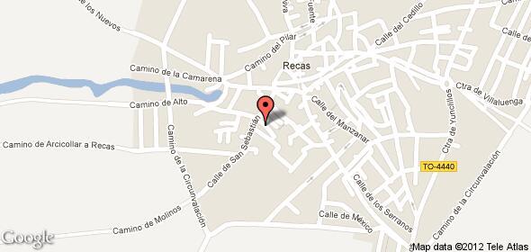 Imagen de Recas mapa 45211 4