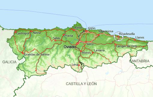 33560 c digo postal de ribadesella - El tiempo en siero asturias ...