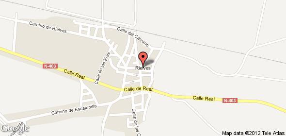 Imagen de Rielves mapa 45524 4