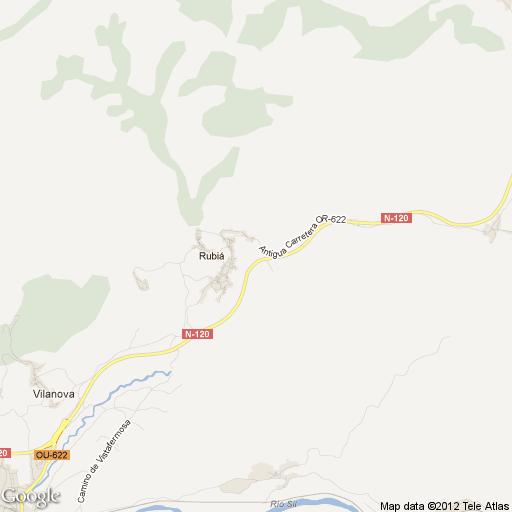 Imagen de Rubiá mapa 32310 1