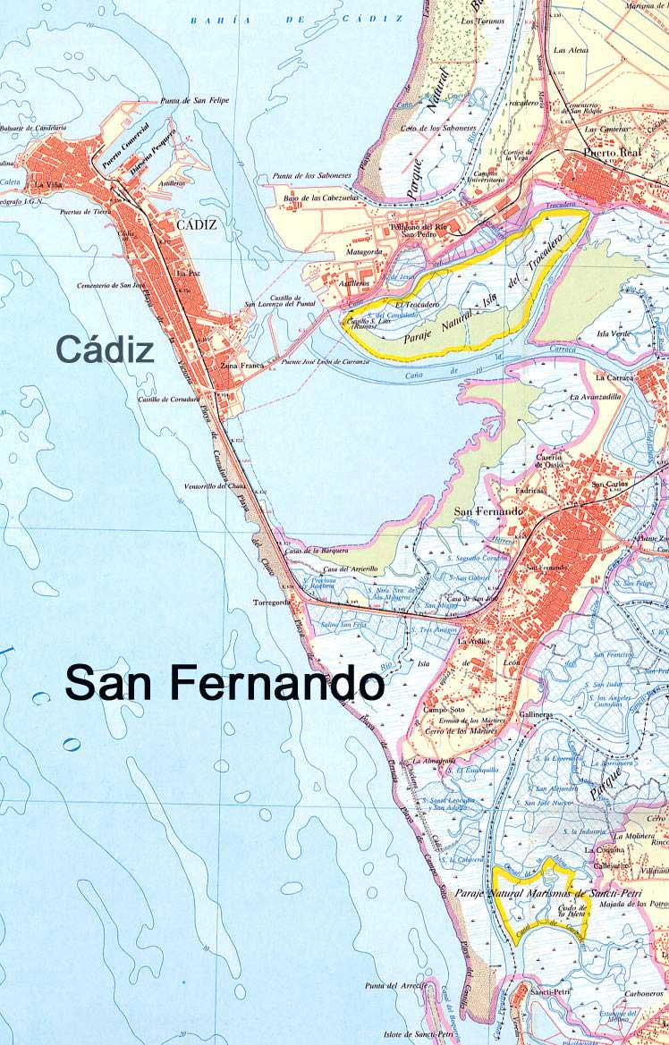 Imagen de San Fernando mapa 11100 2