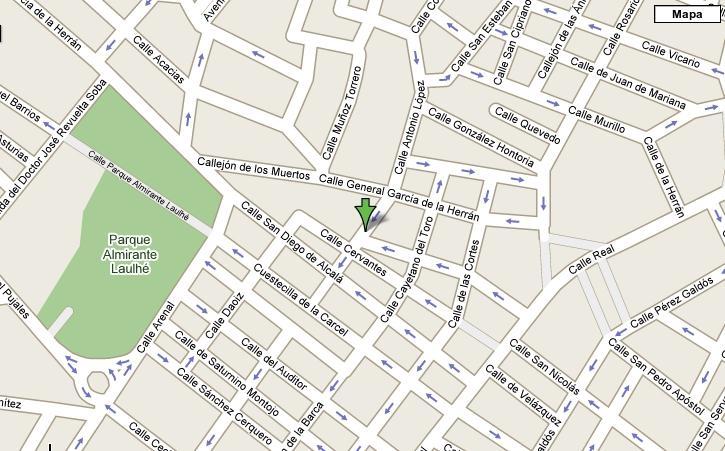 Imagen de San Fernando mapa 11100 3