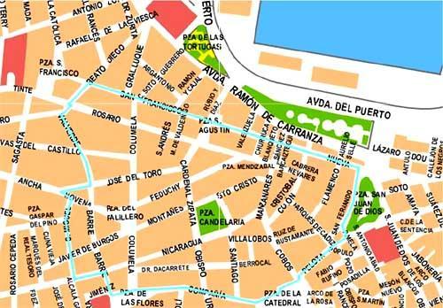 Imagen de San Fernando mapa 11100 4