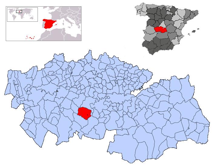 Imagen de San Martín de Montalbán mapa 45165 1