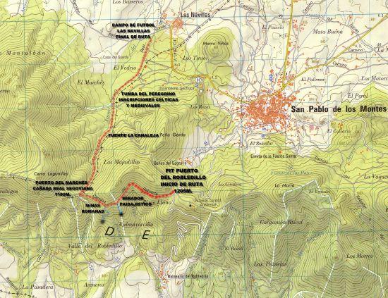 Imagen de San Pablo de los Montes mapa 45120 4