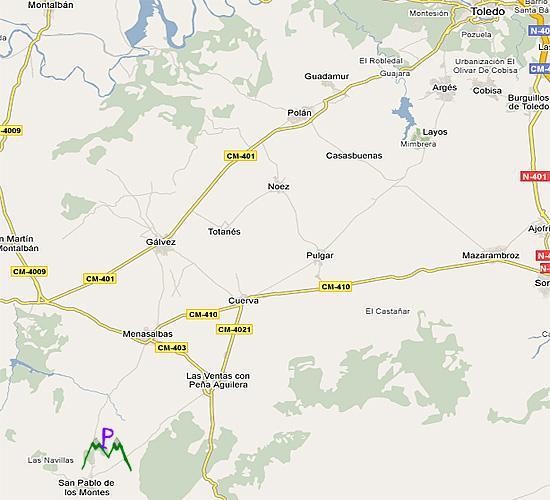 Imagen de San Pablo de los Montes mapa 45120 5