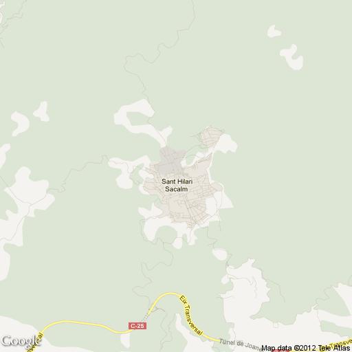 Imagen de Sant Hilari Sacalm mapa 17403 1