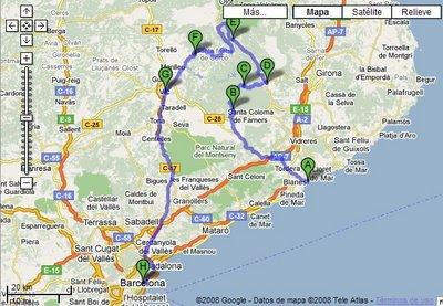 Sant Hilari Sacalm Mapa.17403 Codigo Postal De Sant Hilari Sacalm