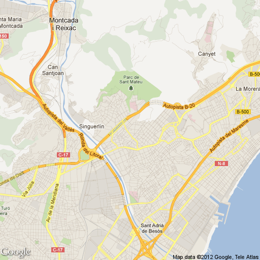 Imagen de Santa Coloma de Gramenet mapa 08921 1