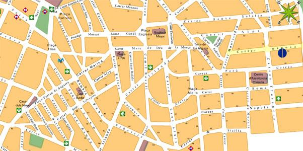 Imagen de Santa Coloma de Gramenet mapa 08921 2