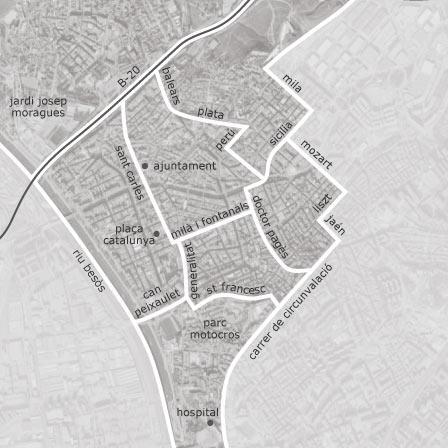 Imagen de Santa Coloma de Gramenet mapa 08921 4