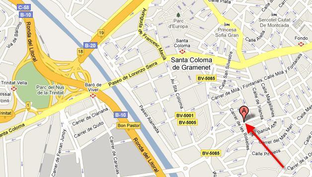 Imagen de Santa Coloma de Gramenet mapa 08921 6
