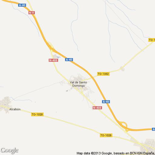 Imagen de Santo Domingo-Caudilla mapa 45526 1