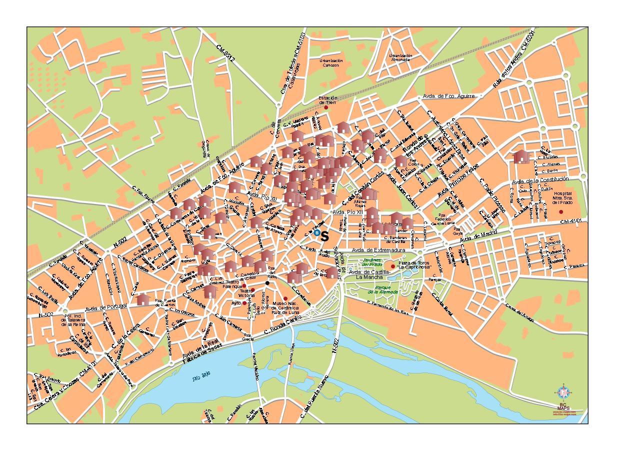 Imagen de Talavera de la Reina mapa 45600 1