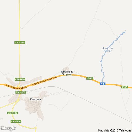 Imagen de Torralba de Oropesa mapa 45569 1