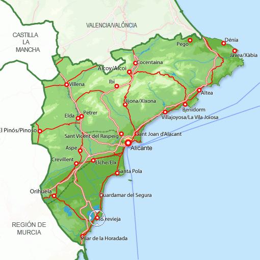 Imagen de Torrevieja mapa 03181 2