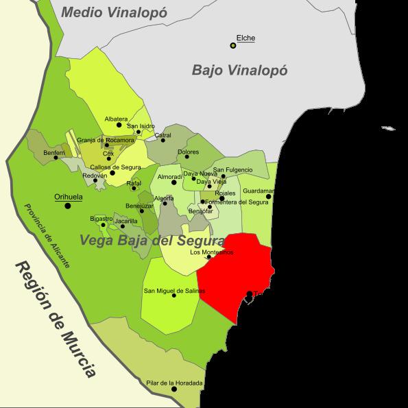Imagen de Torrevieja mapa 03181 3