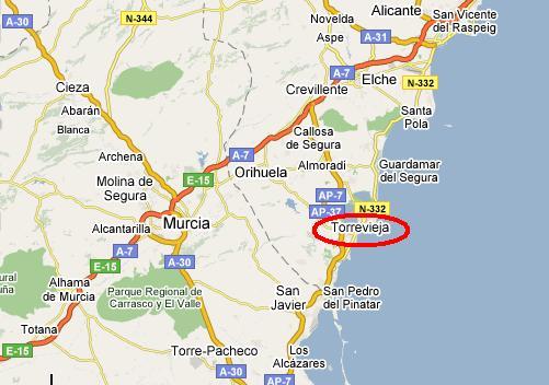 Imagen de Torrevieja mapa 03181 6
