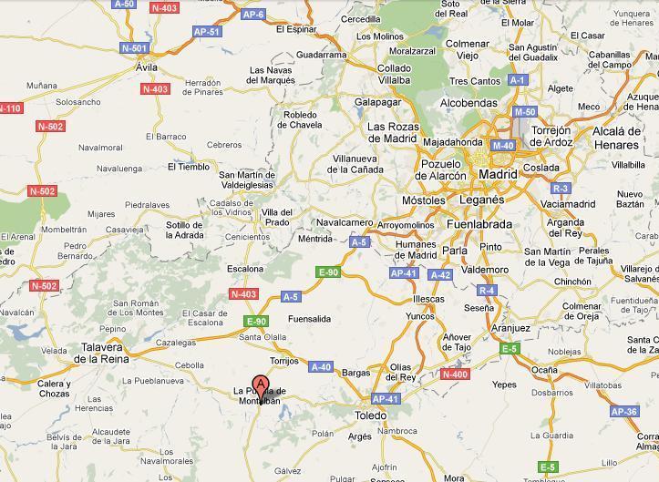 Imagen de Torrijos mapa 45500 2