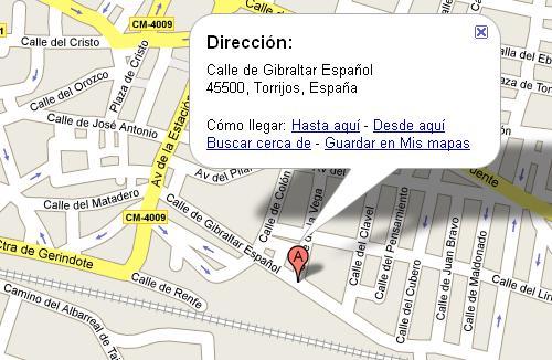 Imagen de Torrijos mapa 45500 4