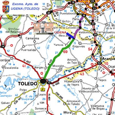 Imagen de Ugena mapa 45217 2