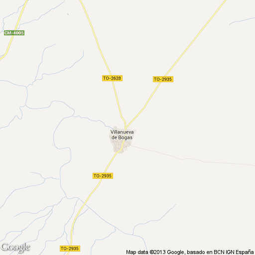 Imagen de Villanueva de Bogas mapa 45410 2