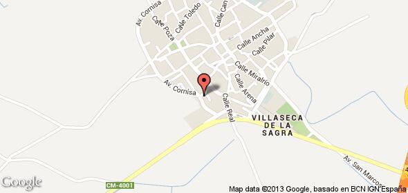 Imagen de Villaseca de la Sagra mapa 45260 1