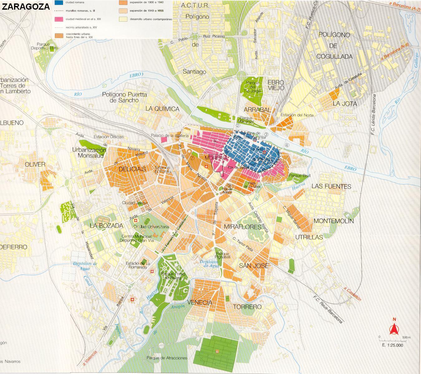 50313 código postal de Zaragoza